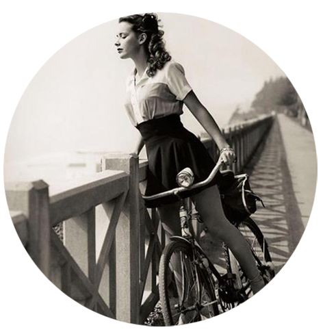 lady-biking-retro